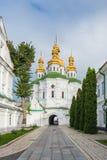 Ortodox kristen kyrka i Kiev Pechersk Lavra Monastery, Kyiv arkivfoton