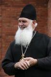 Ortodox kristen präst arkivbild