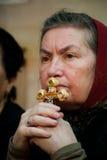 ortodox kristenfriday god jerusalem fläck Fotografering för Bildbyråer