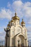 Ortodox kyrka arkivbild