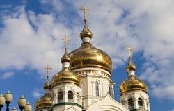 Ortodox kyrka arkivfoto