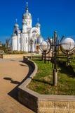 Ortodox kyrka av ärkeängeln Michael Arkivfoto