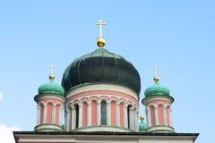 Ortodox kyrka av Potsdam Arkivbild