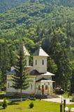Ortodox kyrka av Slanic Moldavien Royaltyfria Bilder
