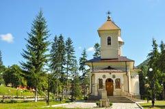 Ortodox kyrka av Slanic Moldavien Arkivfoton