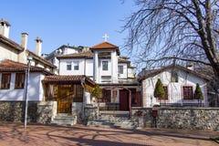 Ortodox kyrka av St Paraskeva Bulgaria, Varna 7 02 2018 Arkivbild
