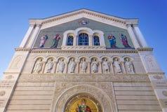 Ortodox kyrka för St Spyridon i Trieste Royaltyfri Foto