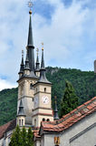 Ortodox kyrka i Brasov, Rumänien Arkivbilder