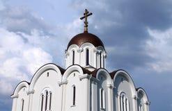 Ortodox kyrka i den Tallinn staden Royaltyfri Fotografi
