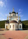 Ortodox kyrka i Foros, Krim royaltyfria foton