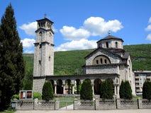 Ortodox kyrka i staden Drvar royaltyfri foto