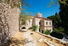 Ortodox kyrka på Samos royaltyfri bild