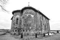 Ortodox kyrka som lokaliseras i Grodno, Vitryssland, kyrkan av 1en Arkivbilder