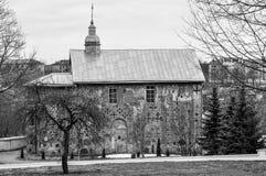 Ortodox kyrka som lokaliseras i Grodno, Vitryssland, kyrkan av 1en Arkivfoton