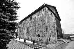 Ortodox kyrka som lokaliseras i Grodno, Vitryssland, kyrkan av 1en Royaltyfria Bilder