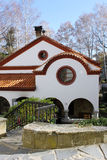 ortodox kyrklig kloster Arkivfoton