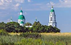 Ortodox manlig kloster Arkivbilder