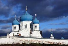 Ortodox monastery in  Bogolubovo. Russia Stock Images