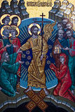 ortodox mosaik Royaltyfri Bild