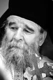Ortodox munk Arkivbild