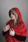 ortodox nunna Royaltyfri Foto