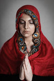 ortodox nunna Royaltyfria Bilder