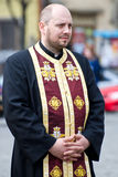 ortodox präst Royaltyfria Bilder