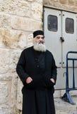 Ortodox präst Arkivbilder