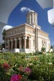 ortodox romanian för kloster Royaltyfri Foto