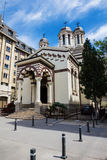 ortodox romanian för kloster Arkivbilder