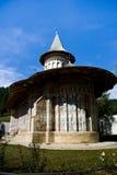 ortodox romanian voronet för kloster Royaltyfri Bild