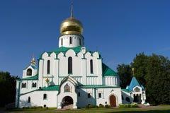 ortodox ryss för domkyrka Royaltyfri Foto