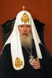 ortodox ryss för patriark alexiy ii Royaltyfri Fotografi