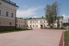 Ortodox skola av St John av Tobolsk. Tobolsk. Sibirien. Ryssland Royaltyfria Foton