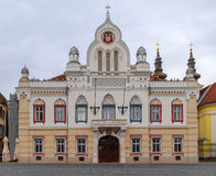 Ortodox uppehåll och serb Vicariate för biskop` s i Timisoara arkivbilder