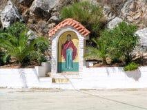 Ortodox waysiderelikskrin Royaltyfri Bild