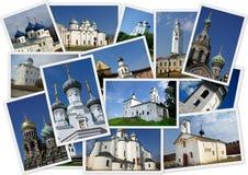 ortodoxa forntida kyrkor Royaltyfri Fotografi