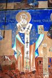 Ortodoxa frescoes royaltyfri foto