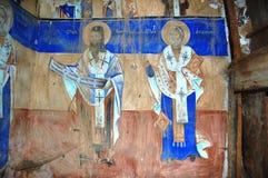 Ortodoxa frescoes royaltyfria foton