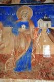 Ortodoxa frescoes arkivbilder