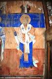 Ortodoxa frescoes royaltyfri bild