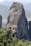 Ortodoxa kloster av Meteora Grekland Royaltyfri Foto