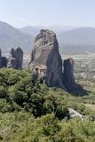 Ortodoxa kloster av Meteora Grekland Royaltyfri Fotografi