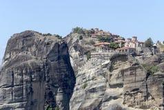 Ortodoxa kloster av Meteora Grekland Arkivbild