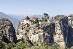 Ortodoxa kloster av Meteora Grekland Arkivfoto