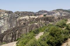 Ortodoxa kloster av Meteora Grekland Royaltyfri Bild