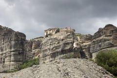 Ortodoxa kloster av Meteora Grekland Royaltyfria Foton