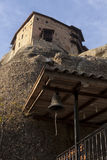Ortodoxa kloster Meteora, Kalambaka Grekland Arkivbild