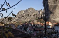 Ortodoxa kloster Meteora, Kalambaka Grekland Royaltyfria Foton