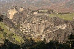 Ortodoxa kloster Meteora, Kalambaka Grekland Royaltyfria Bilder